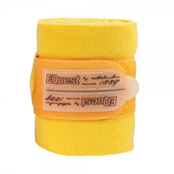 Equest Bandagen Alpha Fleece gelb