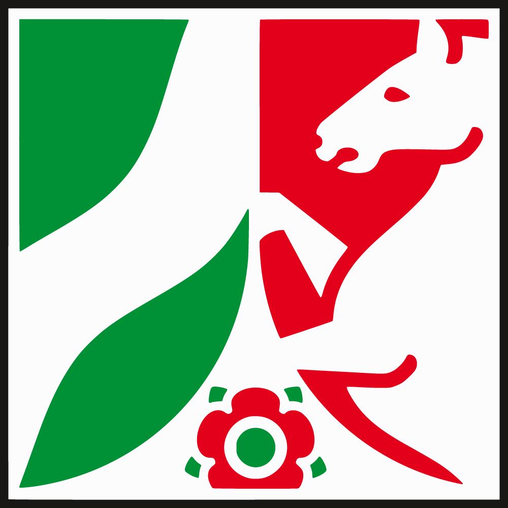 Wappenzeichen des Landes Nordrhein-Westphalen