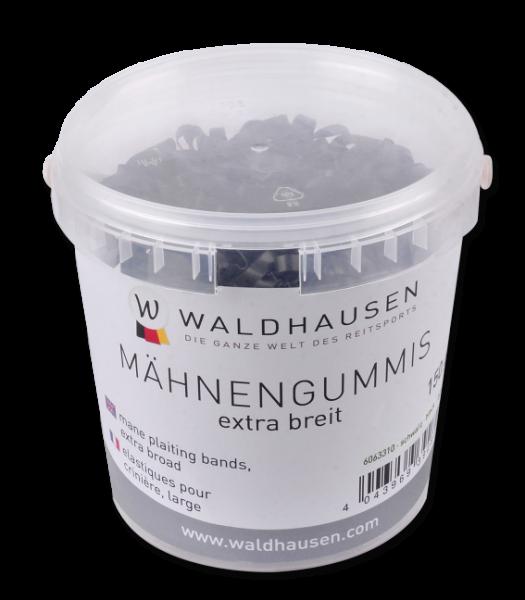 Waldhausen Mähnengummis extra breit, schwarz
